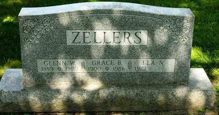 ZELLERS, GRACE B - Richland County, Ohio | GRACE B ZELLERS - Ohio Gravestone Photos