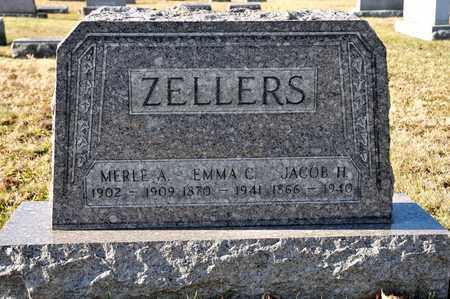 ZELLERS, MERLE A - Richland County, Ohio | MERLE A ZELLERS - Ohio Gravestone Photos