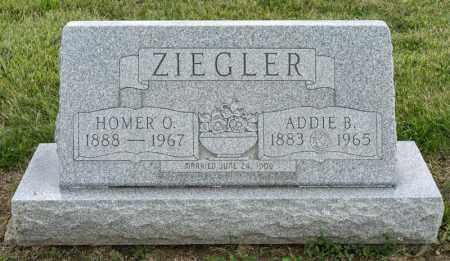 ZIEGLER, ADDIE B - Richland County, Ohio   ADDIE B ZIEGLER - Ohio Gravestone Photos