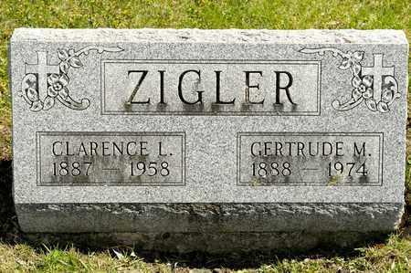 ZIGLER, CLARENCE L - Richland County, Ohio | CLARENCE L ZIGLER - Ohio Gravestone Photos