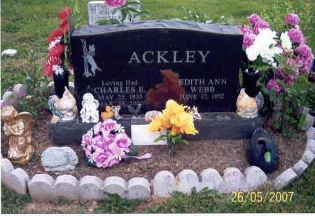 ACKLEY, EDITH ANN - Ross County, Ohio | EDITH ANN ACKLEY - Ohio Gravestone Photos