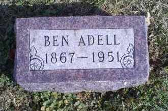 ADELL, BEN - Ross County, Ohio   BEN ADELL - Ohio Gravestone Photos