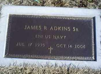 ADKINS, JAMES R. SR. - Ross County, Ohio | JAMES R. SR. ADKINS - Ohio Gravestone Photos