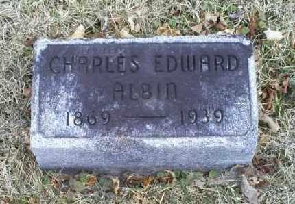 ALBIN, CHARLES EDWARD - Ross County, Ohio   CHARLES EDWARD ALBIN - Ohio Gravestone Photos