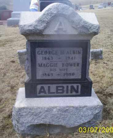 ALBIN, GEORGE H. - Ross County, Ohio   GEORGE H. ALBIN - Ohio Gravestone Photos