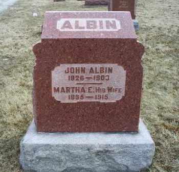 ALBIN, JOHN - Ross County, Ohio   JOHN ALBIN - Ohio Gravestone Photos