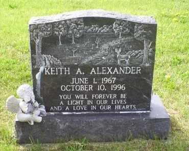ALEXANDER, KEITH A. - Ross County, Ohio | KEITH A. ALEXANDER - Ohio Gravestone Photos