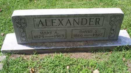 ALEXANDER, MARY A. - Ross County, Ohio | MARY A. ALEXANDER - Ohio Gravestone Photos
