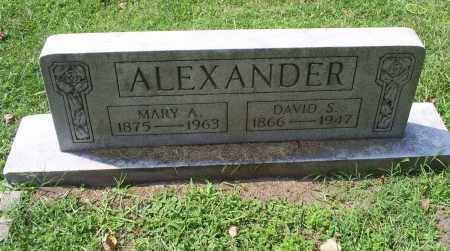 ALEXANDER, MARY A. - Ross County, Ohio | MARY A. ALEXANDER - Ohio Gravestone Photos