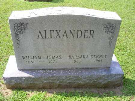 ALEXANDER, WILLIAM THOMAS - Ross County, Ohio | WILLIAM THOMAS ALEXANDER - Ohio Gravestone Photos