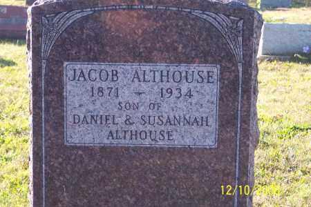 ALTHOUSE, JACOB - Ross County, Ohio   JACOB ALTHOUSE - Ohio Gravestone Photos
