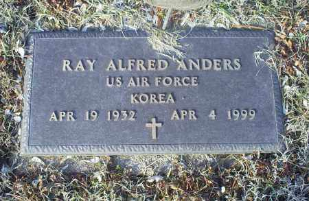 ANDERS, RAY ALFRED - Ross County, Ohio | RAY ALFRED ANDERS - Ohio Gravestone Photos