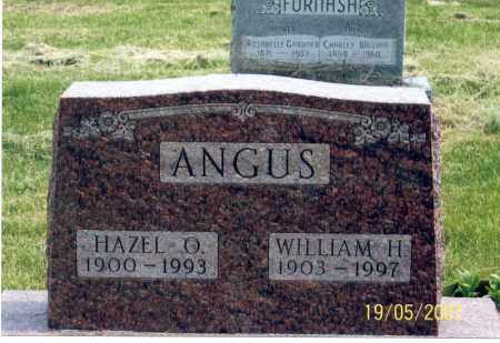 ANGUS, HAZEL O. - Ross County, Ohio | HAZEL O. ANGUS - Ohio Gravestone Photos