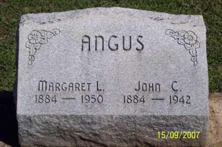 ANGUS, MARGARET L. - Ross County, Ohio | MARGARET L. ANGUS - Ohio Gravestone Photos