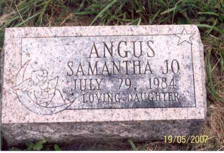 ANGUS, SAMANTHA JO - Ross County, Ohio | SAMANTHA JO ANGUS - Ohio Gravestone Photos
