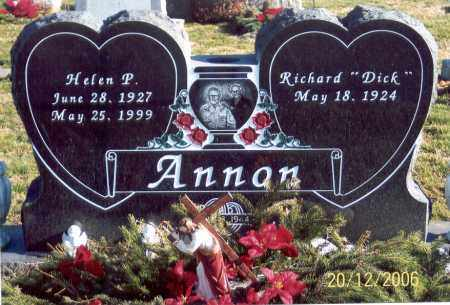 ANNON, RICHARD - Ross County, Ohio | RICHARD ANNON - Ohio Gravestone Photos