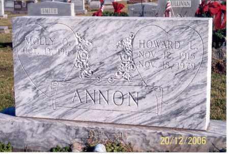 ANNON, HOWARD L. - Ross County, Ohio | HOWARD L. ANNON - Ohio Gravestone Photos