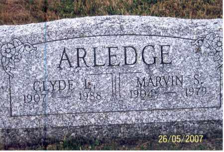 ARLEDGE, CLYDE L. - Ross County, Ohio | CLYDE L. ARLEDGE - Ohio Gravestone Photos