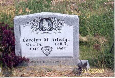 ARLEDGE, CAROLYN M. - Ross County, Ohio | CAROLYN M. ARLEDGE - Ohio Gravestone Photos