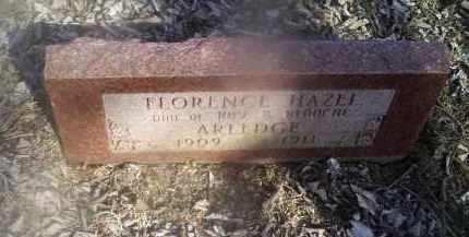 ARLEDGE, FLORENCE HAZEL - Ross County, Ohio | FLORENCE HAZEL ARLEDGE - Ohio Gravestone Photos