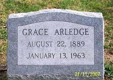 ARLEDGE, GRACE - Ross County, Ohio | GRACE ARLEDGE - Ohio Gravestone Photos