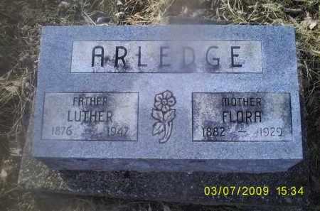 ARLEDGE, FLORA - Ross County, Ohio | FLORA ARLEDGE - Ohio Gravestone Photos