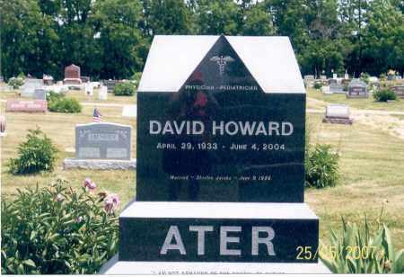 ATER, DAVID HOWARD - Ross County, Ohio | DAVID HOWARD ATER - Ohio Gravestone Photos