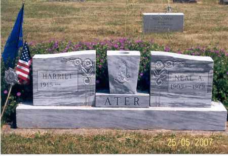 ATER, HARRIET - Ross County, Ohio | HARRIET ATER - Ohio Gravestone Photos