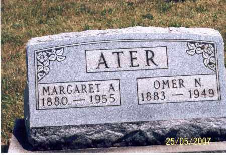 ATER, MARGARET A. - Ross County, Ohio | MARGARET A. ATER - Ohio Gravestone Photos