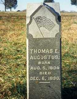 AUGUSTUS, THOMAS E. - Ross County, Ohio | THOMAS E. AUGUSTUS - Ohio Gravestone Photos