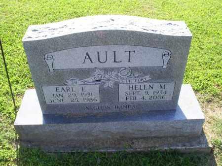 AULT, HELEN M - Ross County, Ohio | HELEN M AULT - Ohio Gravestone Photos