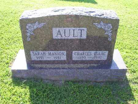 MANION AULT, SARAH - Ross County, Ohio | SARAH MANION AULT - Ohio Gravestone Photos