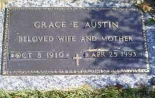 AUSTIN, GRACE E. - Ross County, Ohio | GRACE E. AUSTIN - Ohio Gravestone Photos