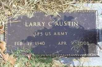AUSTIN, LARRY C - Ross County, Ohio | LARRY C AUSTIN - Ohio Gravestone Photos
