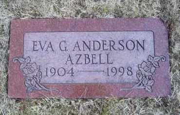 AZBELL, EVA G. - Ross County, Ohio   EVA G. AZBELL - Ohio Gravestone Photos