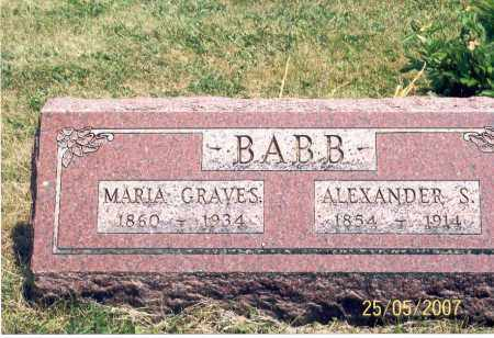 BABB, MARIE - Ross County, Ohio | MARIE BABB - Ohio Gravestone Photos