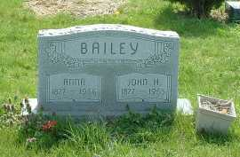 BAILEY, ANNA - Ross County, Ohio | ANNA BAILEY - Ohio Gravestone Photos