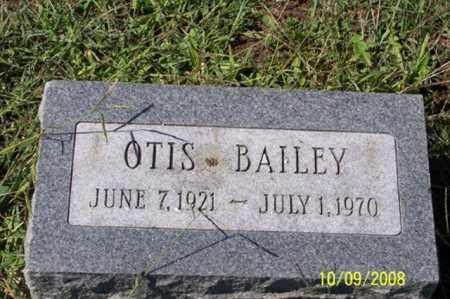 BAILEY, OTIS - Ross County, Ohio | OTIS BAILEY - Ohio Gravestone Photos
