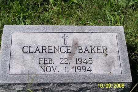 BAKER, CLARENCE - Ross County, Ohio   CLARENCE BAKER - Ohio Gravestone Photos
