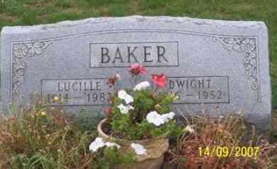 BAKER, LUCILLE - Ross County, Ohio   LUCILLE BAKER - Ohio Gravestone Photos