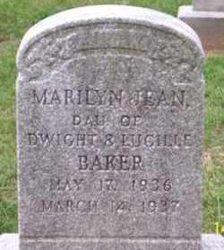 BAKER, MARILYN JEAN - Ross County, Ohio | MARILYN JEAN BAKER - Ohio Gravestone Photos
