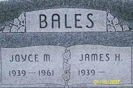 BALES, JOYCE M. - Ross County, Ohio   JOYCE M. BALES - Ohio Gravestone Photos
