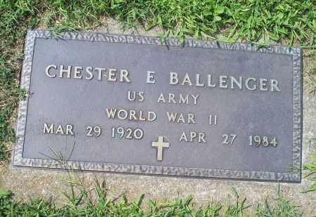 BALLENGER, CHESTER E. - Ross County, Ohio | CHESTER E. BALLENGER - Ohio Gravestone Photos