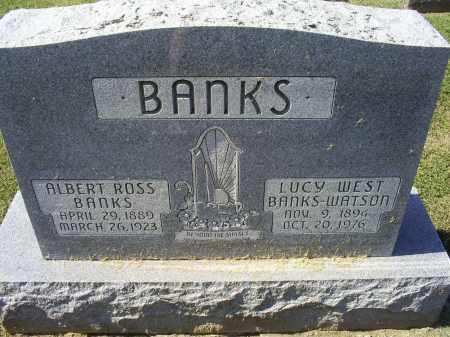 BANKS, ALBERT ROSS - Ross County, Ohio | ALBERT ROSS BANKS - Ohio Gravestone Photos