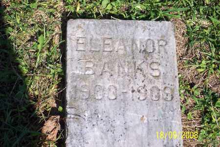 BANKS, ELEANOR - Ross County, Ohio | ELEANOR BANKS - Ohio Gravestone Photos