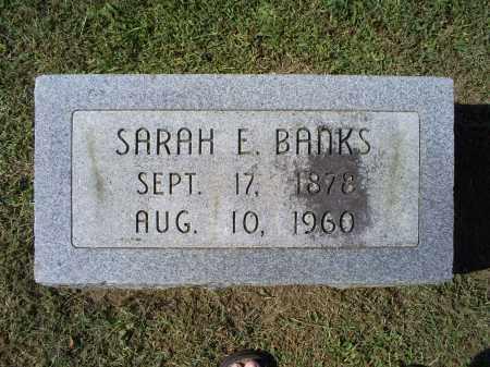 BANKS, SARAH E. - Ross County, Ohio | SARAH E. BANKS - Ohio Gravestone Photos