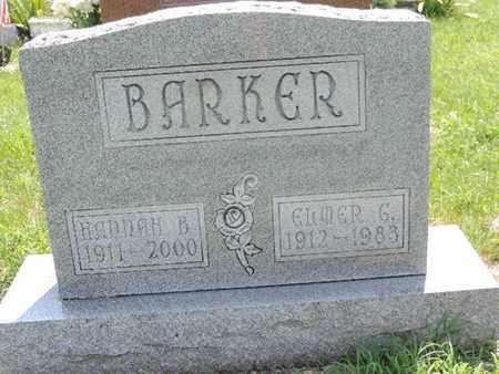 BARKER, ELMER G - Ross County, Ohio | ELMER G BARKER - Ohio Gravestone Photos