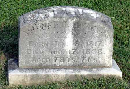 BARKER, SAMUEL O. - Ross County, Ohio | SAMUEL O. BARKER - Ohio Gravestone Photos