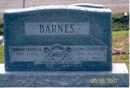 STEINBROOK BARNES, VIRGINIA - Ross County, Ohio | VIRGINIA STEINBROOK BARNES - Ohio Gravestone Photos