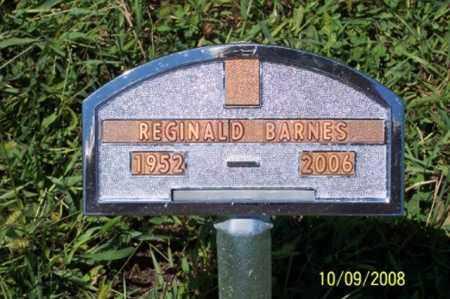 BARNES, REGINALD - Ross County, Ohio | REGINALD BARNES - Ohio Gravestone Photos
